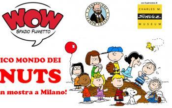 Il fantastico mondo dei Peanuts dal 17 ottobre al Museo Wow di Milano