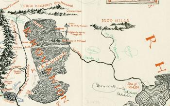 Ravenna come Minas Tirith? Scoprite la mappa inedita della Terra di Mezzo