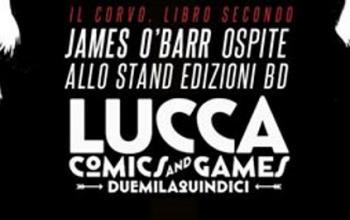 Il Corvo ritorna a Lucca Comics and Games