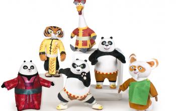Kung Fu Panda 3: i peluche by Famosa