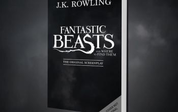 La sceneggiatura degli Animali fantastici e dove trovarli di J.K. Rowling diventa un libro!