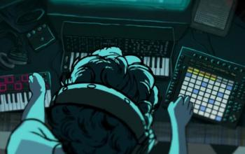 Black, corto d'animazione, album musicale e performance live musicale su Kickstarter