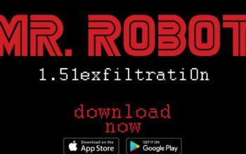 È arrivata l'app Mr. Robot: 1.51exfiltratiOn