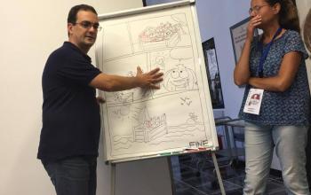 Il workshop di Bruno Enna al Sassari Comics and Games
