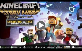 Download gratuito per il primo episodio di Minecraft: Story Mode. A Telltale Games Series