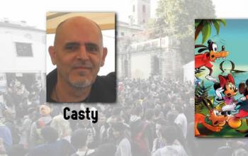 Due chiacchiere con Casty a Lucca Comics & Games 2016