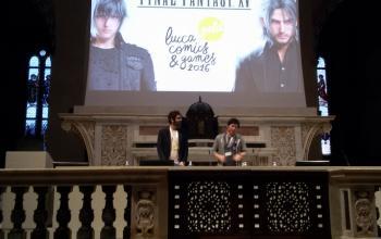 L'incontro con Hajime Tabata a Lucca Comics & Games 2016
