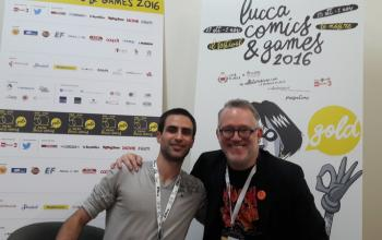 Tony DiTerlizzi a Lucca Comics and Games 2016