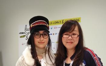 Colazione con Yun Kouga a Lucca Comics & Games 2016