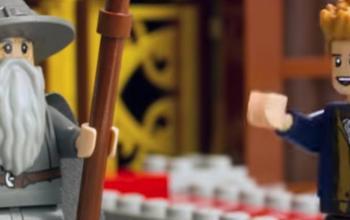 Un crossover tra Il Signore degli Anelli e Animali Fantastici e dove trovarli in LEGO Dimensions: Meet That Hero!