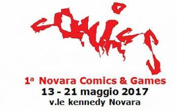 Arriva la prima Novara Comics & Games!