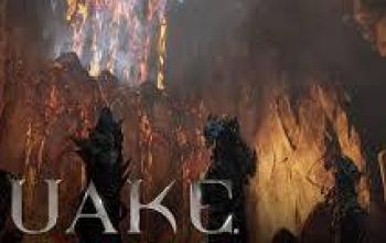 Quake Champions: arena Burial Chamber