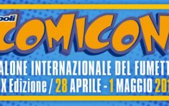 Siamo in pieno Napoli Comicon 2017!