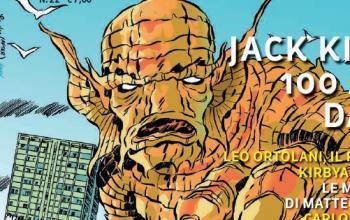È arrivato l'Annuario del Fumetto 2017 dedicato a Jack Kirby!
