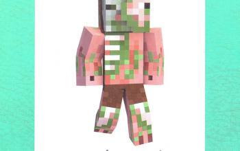 Diario di un Minecraft zombie: scambio di zombie