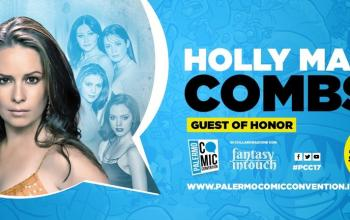 Holly Marie Combs ospite al Palermo Comic Convention
