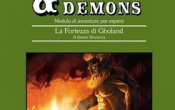 Nuova uscita della serie Dangers & Demons: La Fortezza di Gholand