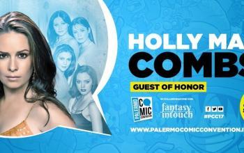 Incontro con Holly Marie Combs alla Palermo Comicon