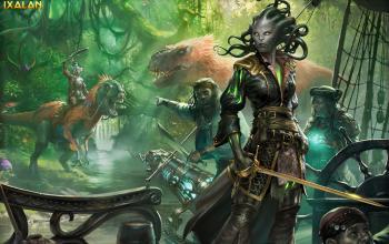 Vampiri e dinosauri per Ixalan, la nuova espansione di Magic: The Gathering