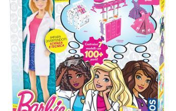 Un kit da scienziata per la nuova Barbie
