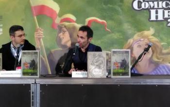 Paolo Barbieri a Lucca Comics & Games 2017: l'anima buona vive anche nelle bestie