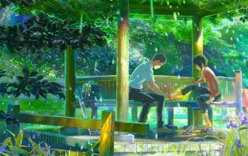 Il giardino delle parole di Makoto Shinkai pubblicato da J-Pop Manga e le altre novità