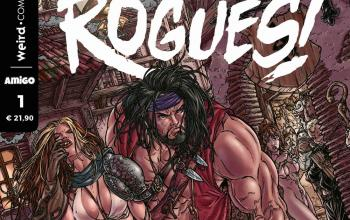 In libreria e fumetteria arriva Rogues!