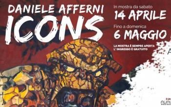Daniele Afferni in mostra a Milano: viaggio a cavallo tra arte e comics