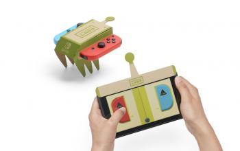 I videogiochi vanno al museo con Nintendo Labo