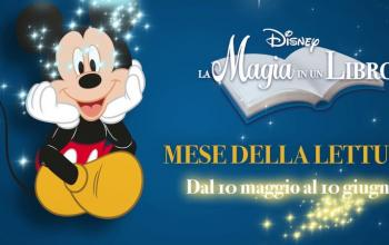 Leggere is magic! Nasce la campagna Disney – La Magia in un Libro
