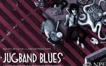 Con Jugband Blues la vita psichedelica di Syd Barrett diventa una graphic novel