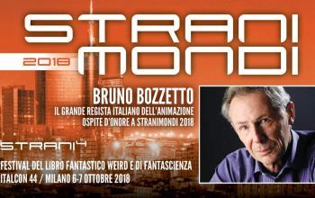 Bruno Bozzetto e Grégory Panaccione ospiti d'onore a Stranimondi 2018!