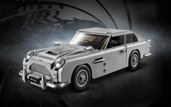 Svelata l'Aston Martin DB5 di James Bond in mattoncini LEGO