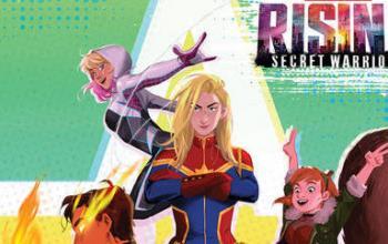 Il cast di Marvel Rising presentato alla San Diego Comic-Con