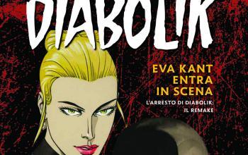 Eva Kant entra in scena, il volume che festeggia i 55 anni della compagna di Diabolik