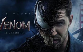 Venom entra in azione nel nuovo motion poster