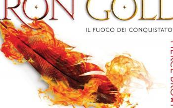 Pierce Brown torna nelle librerie italiane con Iron Gold – Il fuoco dei conquistatori, il sequel di Red Rising