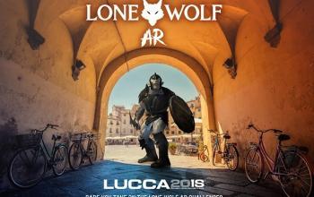Lupo Solitario in Realtà Aumentata a Lucca Comics & Games
