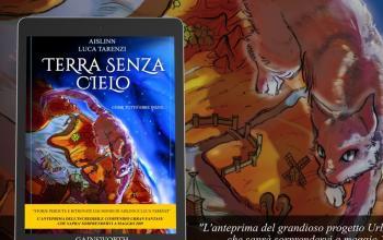 Terra senza cielo di Aislinn e Luca Tarenzi in anteprima a Lucca Comics & Games