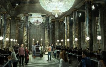 Al Warner Bros. Studio Tour London: The Making of Harry Potter arriva la Gringott!
