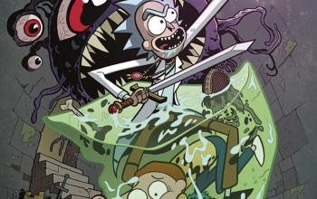 Rick and Morty vs Dungeons & Dragons è in fumetteria