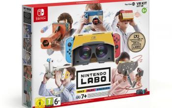 Nintendo pensa alle famiglie e alla sostenibilità con Switch e Labo al Fuorisalone 2019