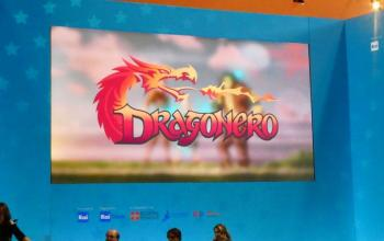 Dragonero la serie animata: l'annuncio a Cartoons on the bay