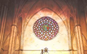 La cattedrale del mare a fumetti