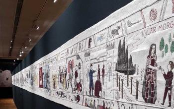 L'arazzo del Trono di Spade esposto a Bayeux