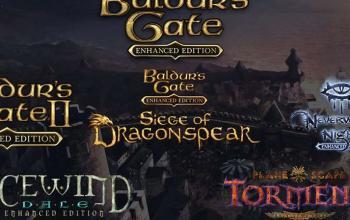 Arrivano su console Baldur's Gate, Baldur's Gate II, Planescape: Torment e Icewind Dale