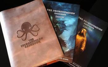 Il librogame del Necronomicon raggiunge quota 400% e gli autori incontreranno il pubblico di Lucca Comics & Games