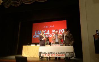 Walk of Fame per Andrej Sapkowski a Lucca Comics & Games