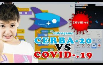 A 9 anni crea un videogioco con cui combattere virtualmente COVID-19