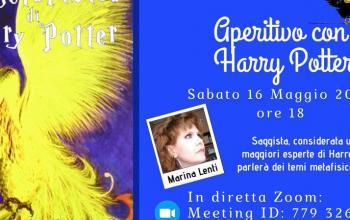 Un aperitivo con Marina Lenti e La metafisica di Harry Potter